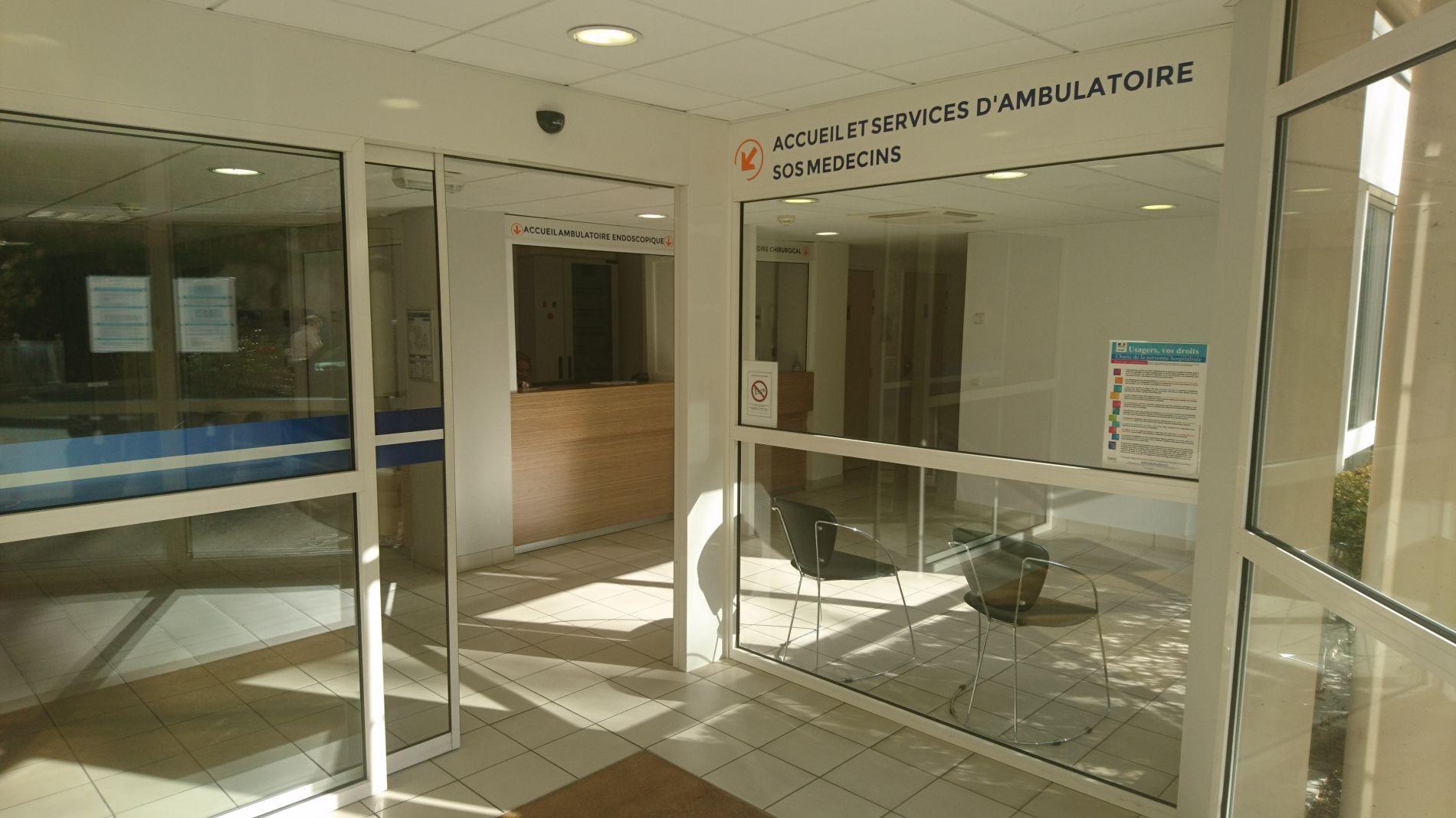 Nouvel accueil d'ambulatoire